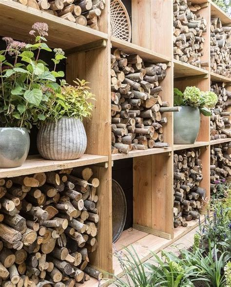 Best Firewood Storage Ideas In 2020 | Almacenamiento de ...