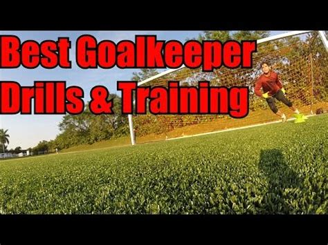 Best Goalkeeper Drills and Training Session!   YouTube