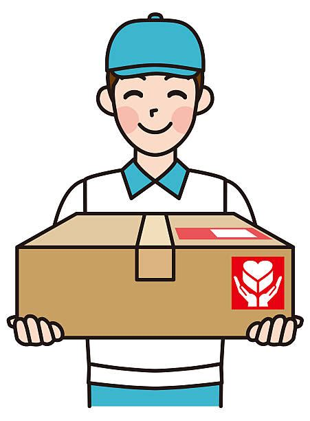 Best Home Delivery Illustrations, Royalty Free Vector ...