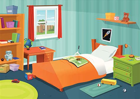 Best Kids Bedroom Illustrations, Royalty Free Vector ...