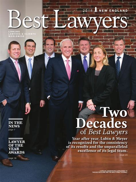 Best Lawyers in New England 2016 by Best Lawyers   Issuu