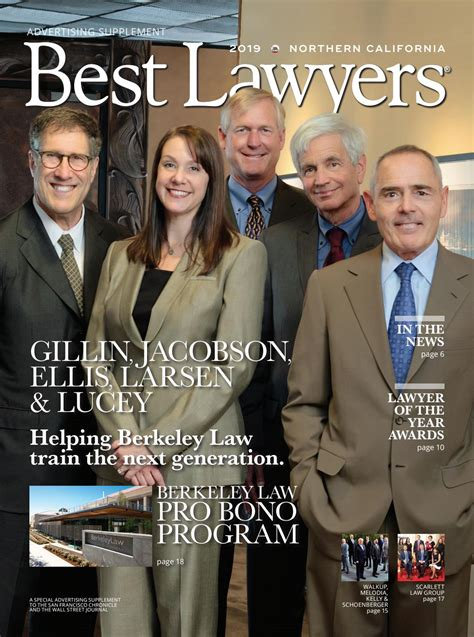 Best Lawyers in Northern California 2019 by Best Lawyers ...