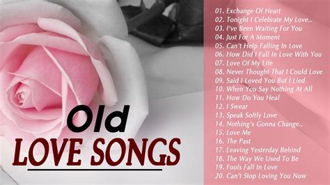 Best Old English Love Songs With Lyrics   Greatst Romantic ...