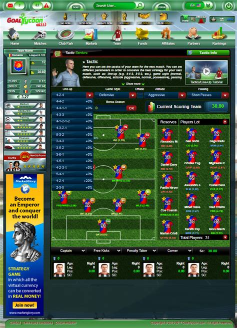 Best Online Football Manager Games With Real Players ...