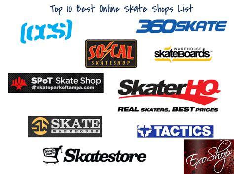 Best Online Skate Shops   Top 10 Skate Shop List   Top 10 ...