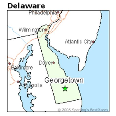 Best Places to Live in Georgetown, Delaware