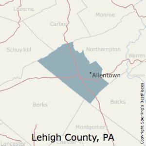 Best Places to Live in Lehigh County, Pennsylvania