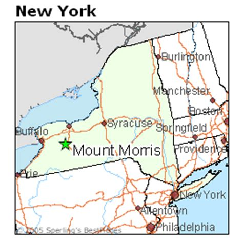 Best Places to Live in Mount Morris, New York