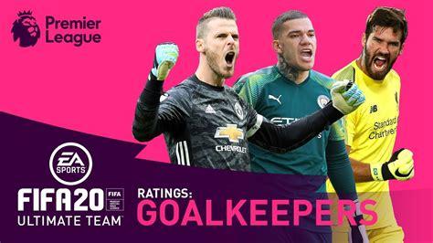 BEST Premier League Goalkeeper?   FIFA 20   De Gea ...