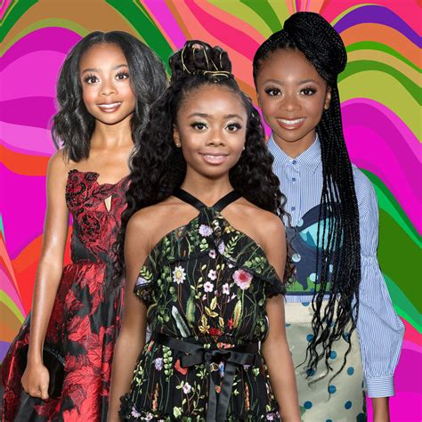 Best Skai Jackson Hairstyles   Essence