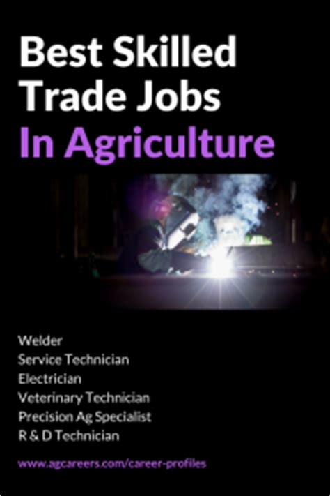 Best Skilled Trade Jobs in Agriculture | Career ...