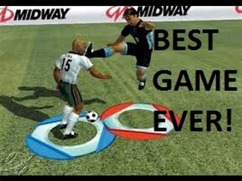 BEST SOCCER GAME EVER Redcard 2003   YouTube