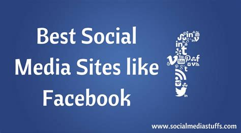 Best Social Media Sites like Facebook
