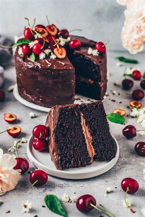 Best Vegan Chocolate Cake  easy Recipe    Bianca Zapatka ...