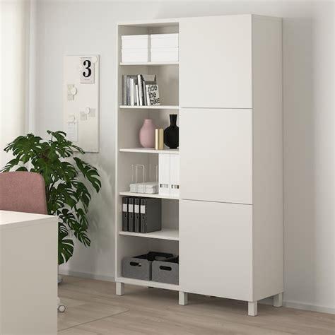 BESTÅ Mueble salón, blanco, Lappviken/Stubbarp blanco ...