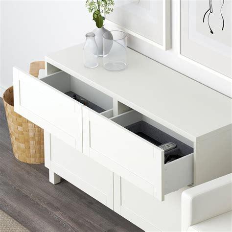 BESTÅ Mueble salón   Hanviken blanco   IKEA