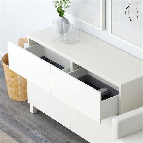 BESTÅ Mueble salón, Lappviken blanco, 120x40 cm, Altura ...