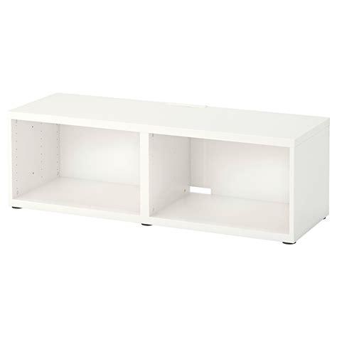 BESTÅ Mueble TV, blanco, 120x40x38 cm   IKEA