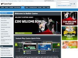 Betfair Casino   £200 Casino Bonus
