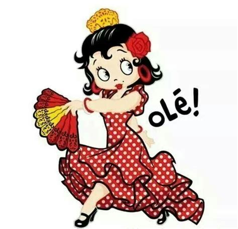 Betty Boop flamenco   Olé!   Betty boop pictures, The real ...