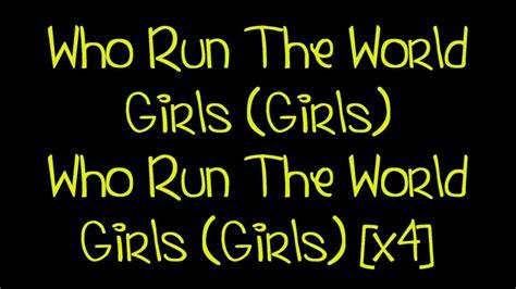 Beyoncé   Run The World [Lyrics] HD Chords   Chordify