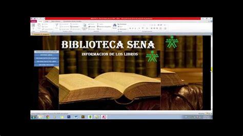 BIBLIOTECA ACCESS 2010   YouTube