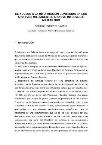 Biblioteca Virtual de Defensa > Presentación