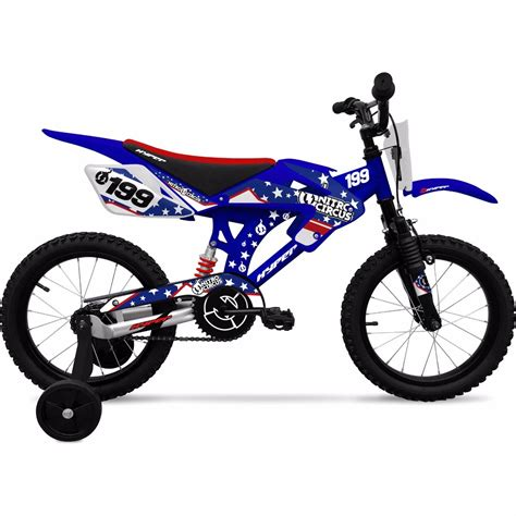 Bicicleta Tipo Moto Para Niño Motocross Rodada 16 Nitro ...