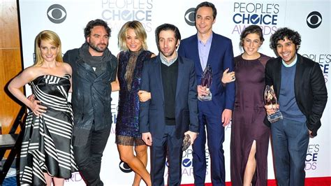 Big Bang Theory  Cast Emotionally Celebrates Series ...