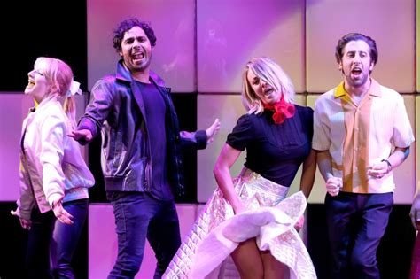 Big Bang Theory  Cast Goes Full On  Greased Lightning ...