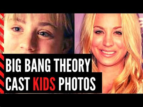 Big Bang Theory Cast s Kids Photos: Then and Now ...