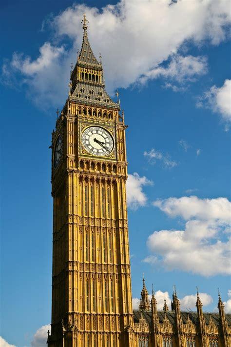 Big ben clock tower, historical landmark in london ...