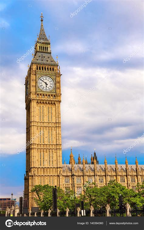 Big Ben Clock Tower in London England — Stock Photo ...