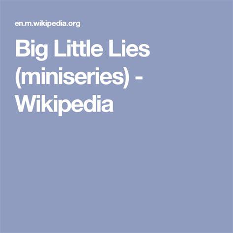 Big Little Lies  miniseries    Wikipedia | Big little lies ...