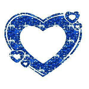 Bilder und animierte GIFs von Blauen Herzen ~ Gifmania