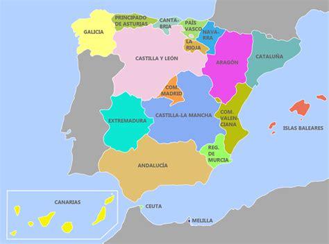 Bilingual 6th grade: Maps of Spain