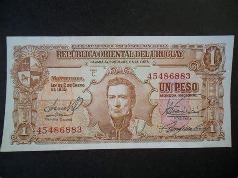 Billete De 1 Peso Banco Republica Oriental Del Uruguay ...