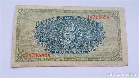 billete de 5 pesetas   4 de septiembre 1940   b   Comprar ...