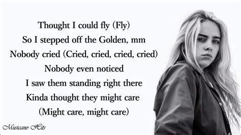 Billie Eilish   everything i wanted  Lyrics    YouTube