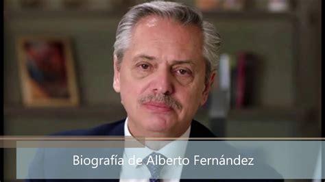 Biografía de Alberto Fernández   YouTube