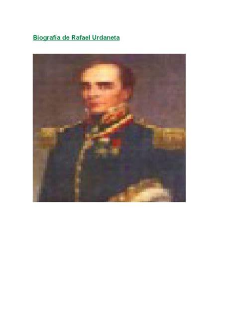 Biografía de Rafael Urdaneta | Conflictos del segundo ...