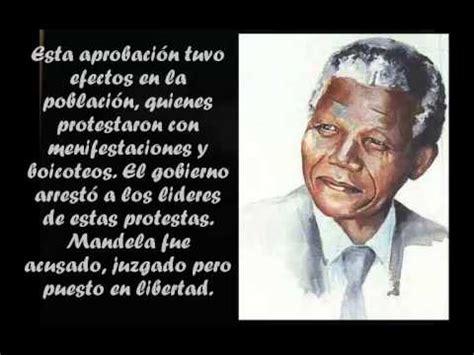 Biografía: Nelson Mandela   YouTube