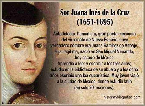 Biografia Sor Juana de la Cruz:Resumen de Su Vida y Obra ...