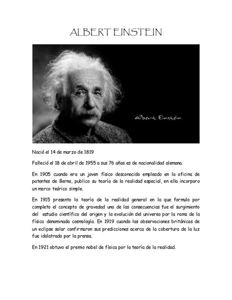 Biografías De Personas Importantes Del Mundo.