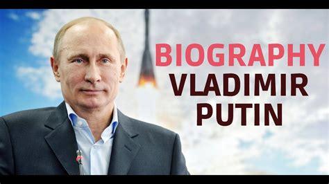 Biography of Vladimir Putin Part 1   The most powerful man ...