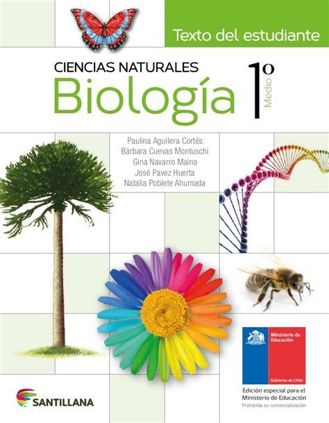 Biología 1º medio texto del estudiante