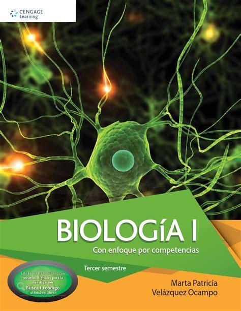 Biologia I con Enfoque por Competencias. 1a Ed. Patricia ...