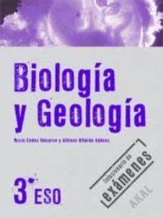 BIOLOGIA Y GEOLOGIA: 3º ESO SOLUCIONARIO DE EXAMENES | VV ...