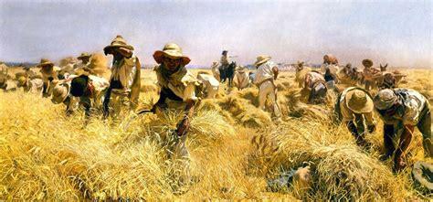 BIOMBO HISTÓRICO: ESPAÑA DEL XIX. LA AGRICULTURA
