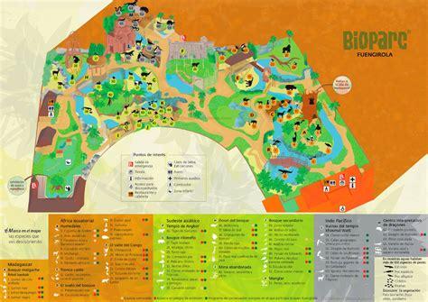 Bioparc Fuengirola Mapa